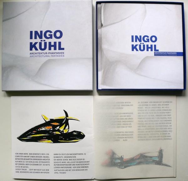 20 Exemplare - Buch (Normal-Ausgabe 2015) mit einem beigelegten Siebdruck-Heft mit 12 handkolorierten Zeichnungen von 1981 <br><h3>250,- €</h3> (nur bei Ingo Kühl zu bekommen)