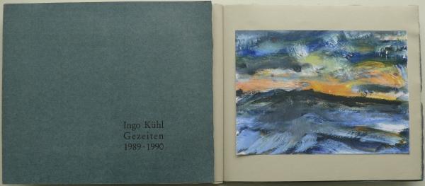 50 Expl., num., sign. <br>Text Curt Grützmacher, Format 20,5 x 24 cm, den Nummern 1–7 liegt eine der Reproduktionen im Original bei, * Berlin 1992<br><h3>vergriffen</h3>