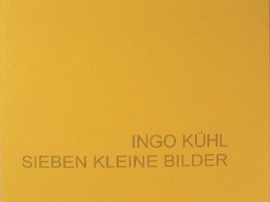 99 Expl., num., sign., 11,5 x 15,5 cm, 28 S., 7 Farbabb., Keitum 2003 <br><h3>vergriffen</h3>